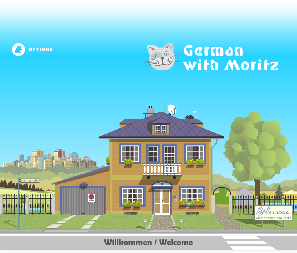Tablet application development for German with Moritz